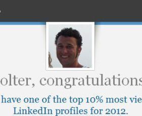 LinkedIn's Savvy Marketing: Site Celebrates Users Achievement of Most Viewed Profiles